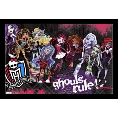 Monster High - Ghouls Rule Poster Print - Monster High Posters