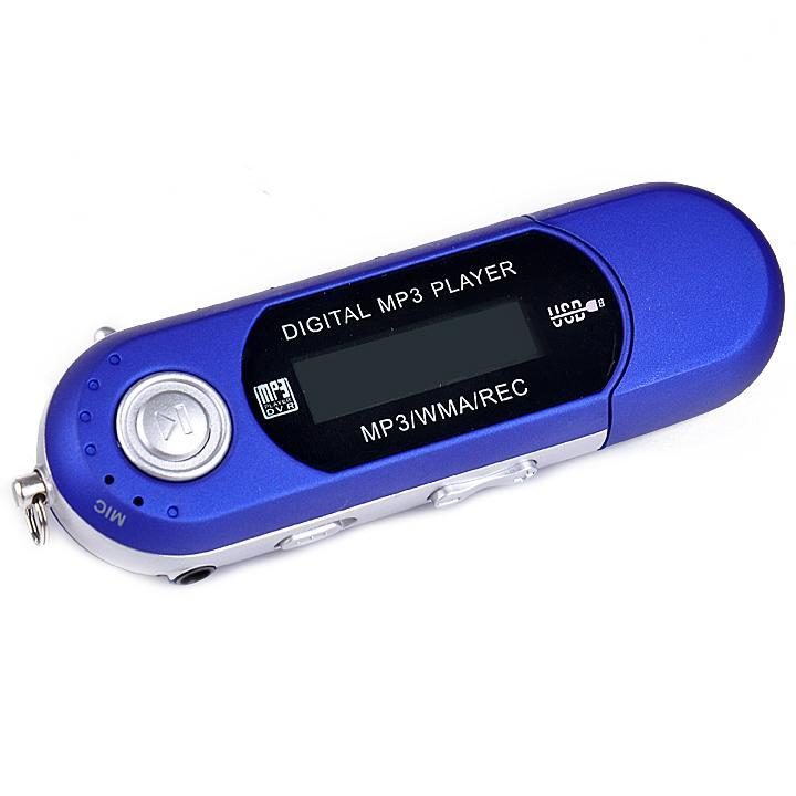 Digital Music MP3 Audio Player with FM Radio and  Earphone