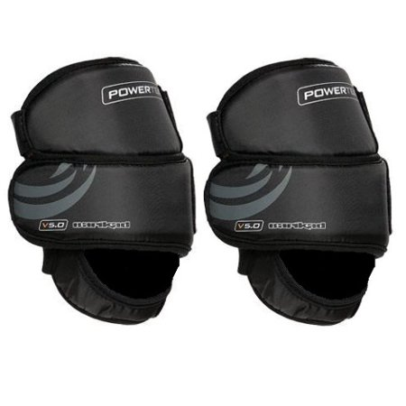 PowerTek V5.0 Barikad Flex Plus Ice Hockey Goal Keeper Goalie Knee Pads - Adult
