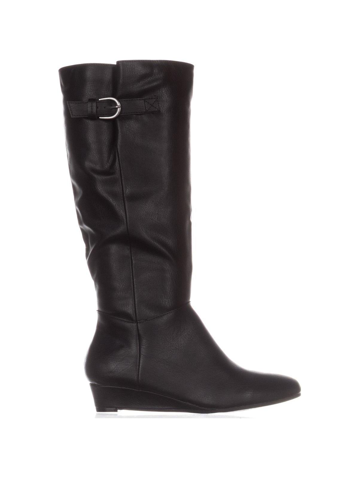 90b9f450fbe8 SC35 - Womens Rainne Wedge Mid-Calf Boots