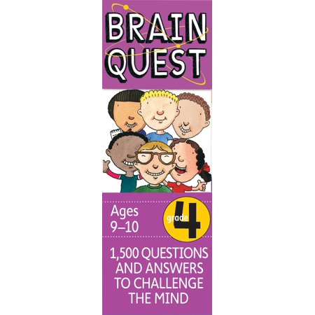 Brain Quest Decks: Brain Quest Grade 4, Revised 4th Edition: 1,500 Questions and Answers to Challenge the Mind (Hardcover) - Fourth Grade Halloween Crafts