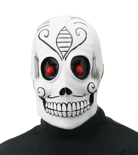 Dia De Los Muertos Mask for Groom Skull Costume