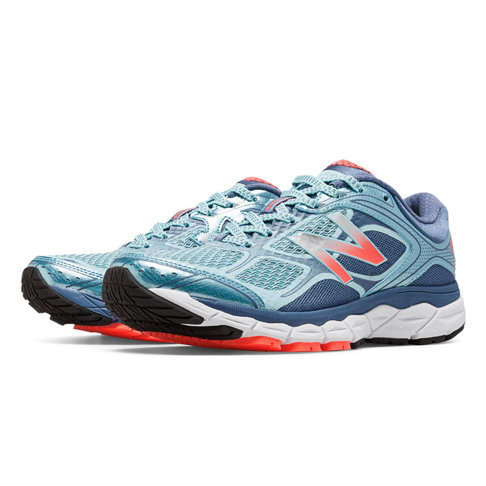 New Balance Womens Blue Purple 860 Stability Running