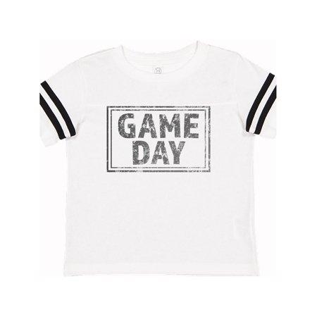Distressed Game Day Stamp Toddler T-Shirt