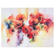 Flora Canvas Wall Art - 32W x 24H in.