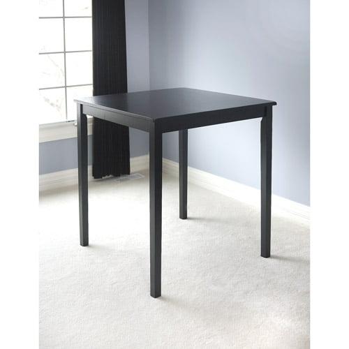 Belfast bar height table black walmart