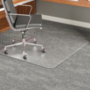 Cm17243 Office Reception Home Carpet Floor Protector Executive Chair Mat Beveled Edge 45 X 53