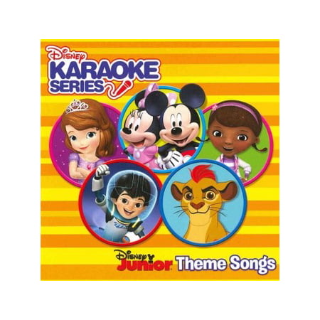 Disney Karaoke Series: Disney Junior Theme Songs / Various (CD)](Disney Halloween Songs For Children)