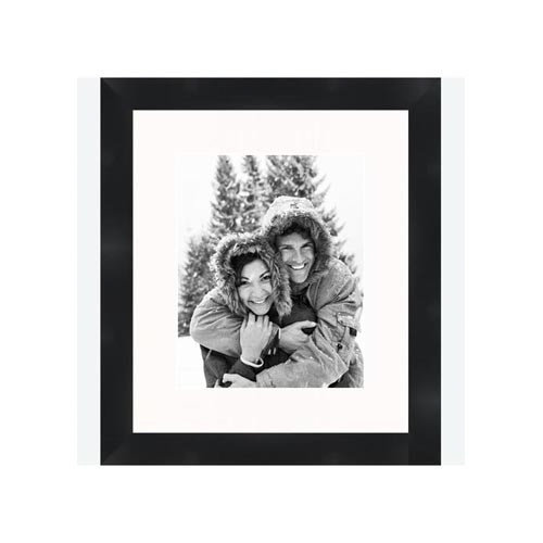 Frames By Mail 8'' x 10'' Traditional Flat Frame in Black