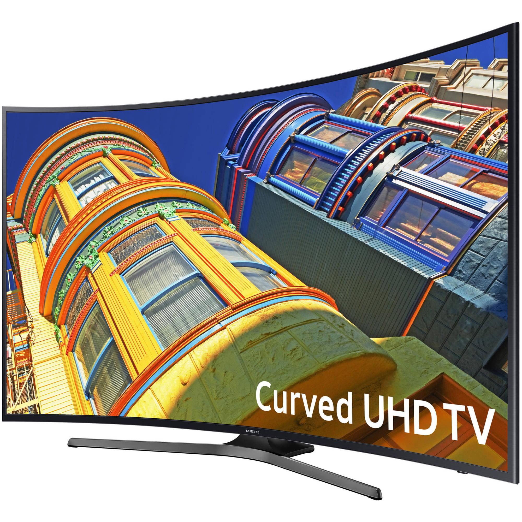 "Refurbished Samsung 49"" Class 4K (2160P) Curved Smart LED TV (UN49KU6500) by Samsung"