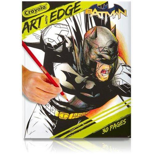 "Crayola Art With Edge Batman Collection Coloring Book, 30 pages, 8"" x 10"" by Binney And Smith Inc"