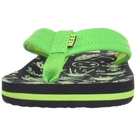 3a3bf822fd3e Kids Reef Girls Ahi Glow Slip On Thong Flip Flops - image 1 of 2 ...
