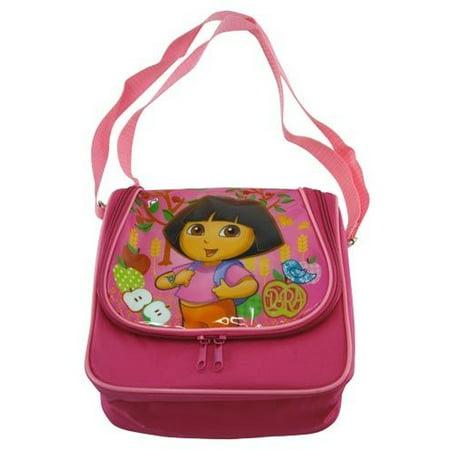 Lunch Bag - Dora the Explorer - Dome w/Adjustable Strap New Girls