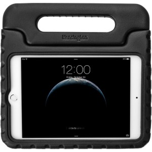 "Kensington SafeGrip Carrying Case for iPad mini 4 - Black - Damage Resistant Interior, Drop Resistant Interior, Bump Resistant Interior - Handle - 1.2"" Height x 10"" Width x 11"" Depth"