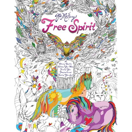 Free Spirit : A Coloring Book for Calming Your Mind, Freeing Your Imagination, and Igniting Your Soul](Halloween Crafts For Adults Let Imagination)