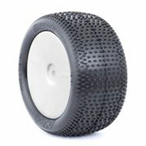 Rear EVO IMPACT, Soft, EVO Wheel, White: Buggy