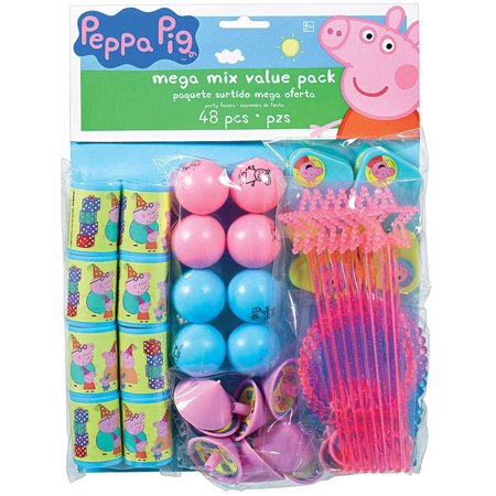 Peppa Pig Mega Mix Party Favor Pack, 48pc