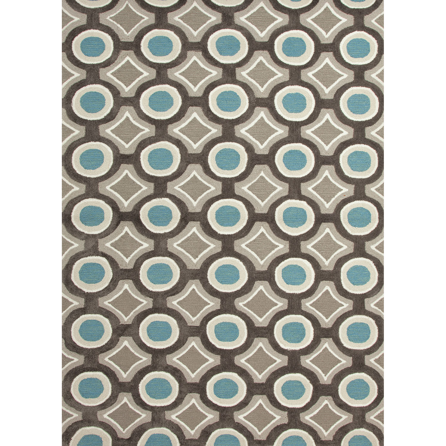 Royal Rugs Brio Blue Geometric Area Rug