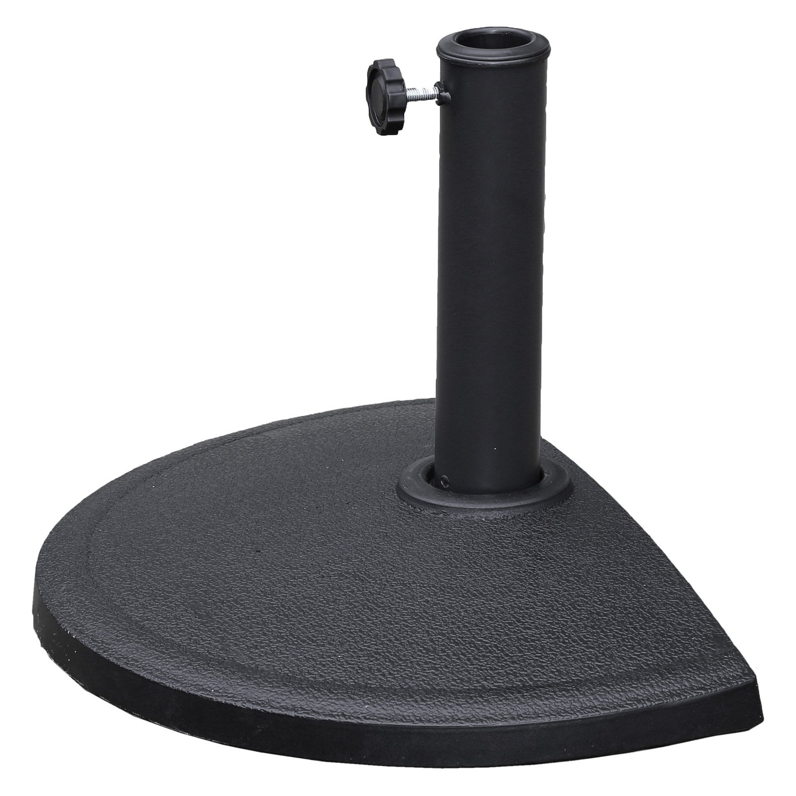 Half-Round Wall Hugger Umbrella Base for Half-Round Umbrellas