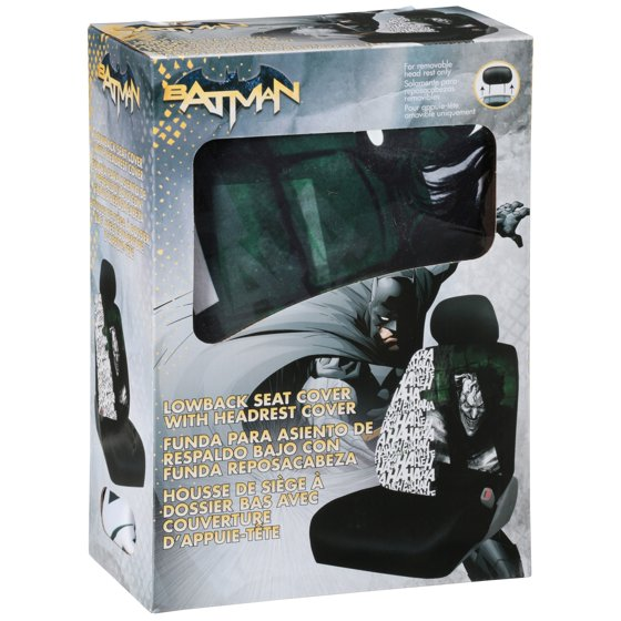 Batman Joker Lowback Seat Cover With Headrest