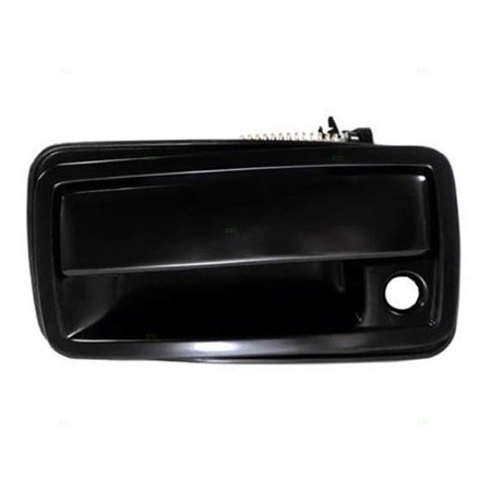 (Drivers Front Outside Exterior Door Handle Replacement for 94-05 Chevrolet GMC Pickup Truck Oldsmobile SUV 15647661)