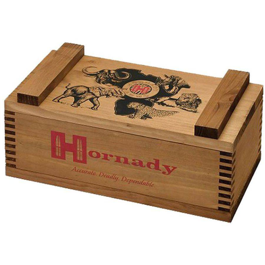 Hornady 9902 African Big Five Ammunition Boxes Wood