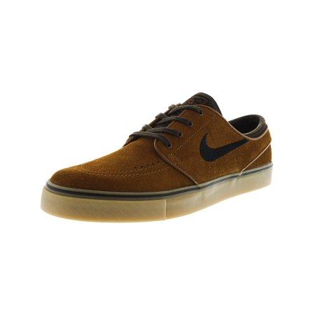 Nike Men's Zoom Stefan Janoski Hazelnut / Black Baroque Brown Canvas  Skateboarding Shoe - 9M - Walmart.com