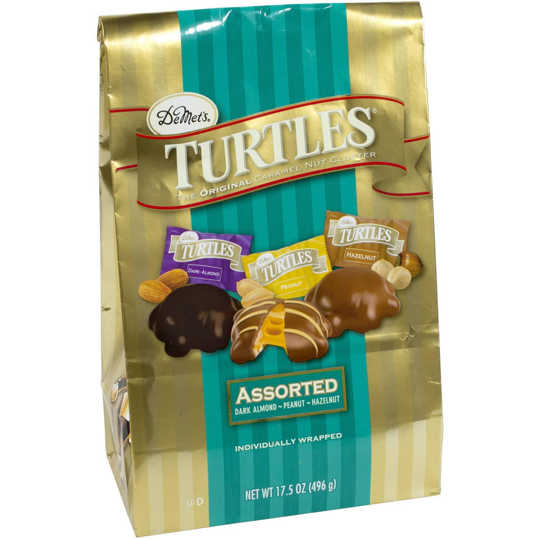 DeMet's Turtles Assorted Caramel Nut Clusters, 17.5 oz