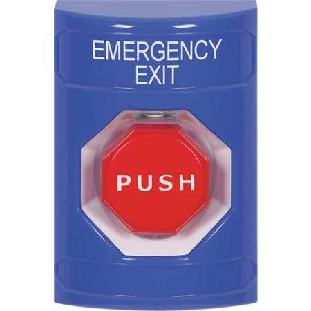 Emergency Exit Push Button,Key-To-Reset SAFETY TECHNOLOGY INTERNATIONAL SS2402EX-EN