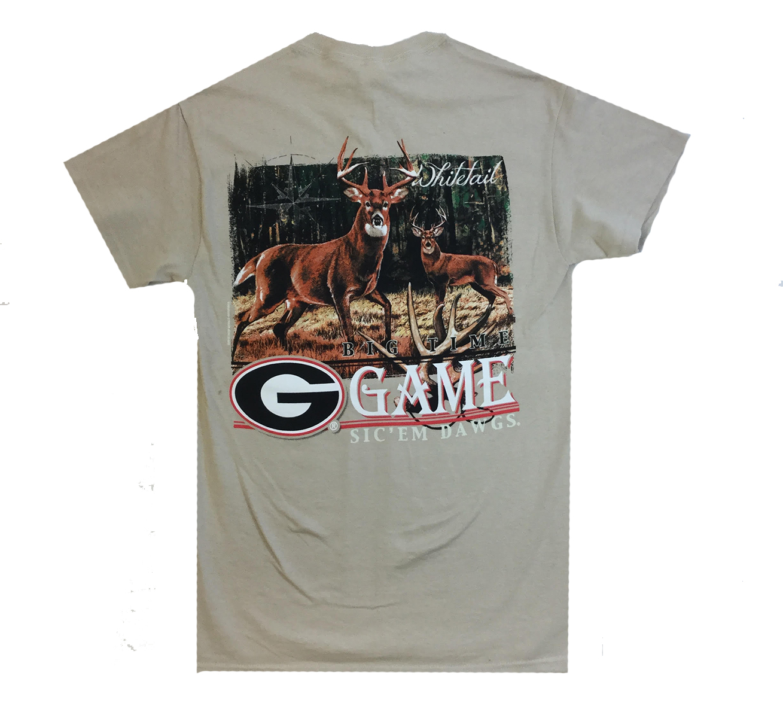 New World Graphics UGA Giant Dawg Short Sleeve T-shirt