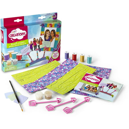 Crayola Thread Wrapper Activity Kit, Gift for Girls, Ages 8, 9, 10, 11 (Arts And Crafts Activities For Halloween)