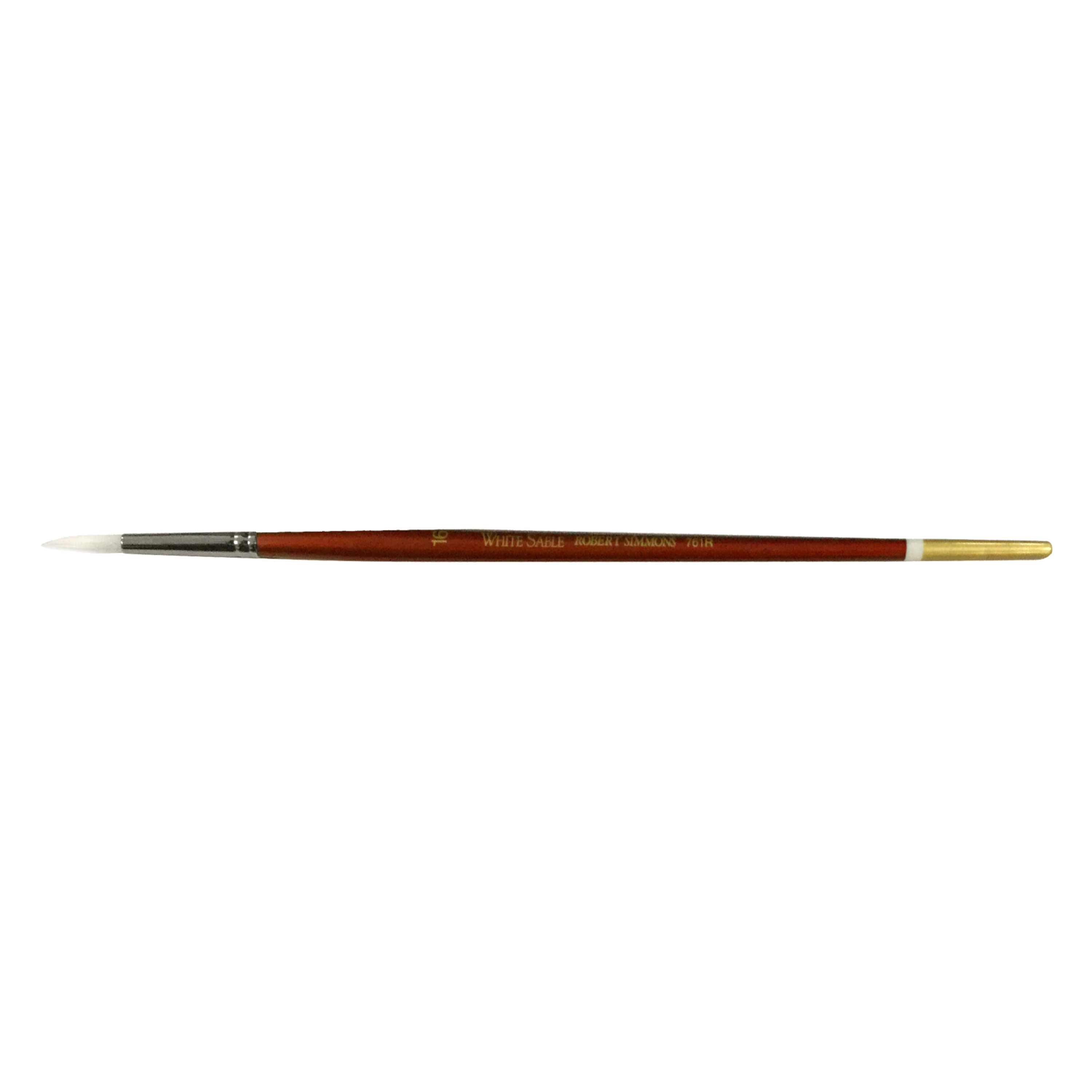 Robert Simmons White Sable Long Handle Brushes 6 bright 760B