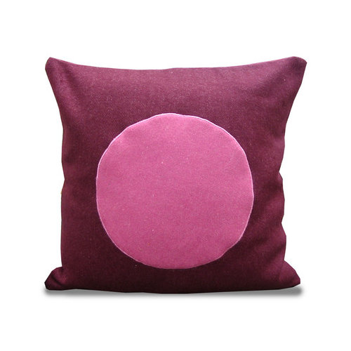 Melrose Home Circle Design Pillow Shell