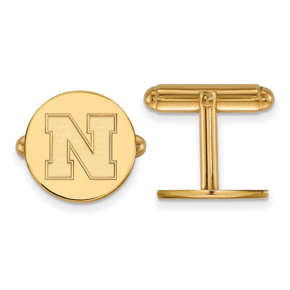Nebraska Cuff Links (Gold Plated)