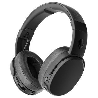 Skullcandy Crusher Bluetooth Over-Ear Headphone w  Mic, Black by Skullcandy