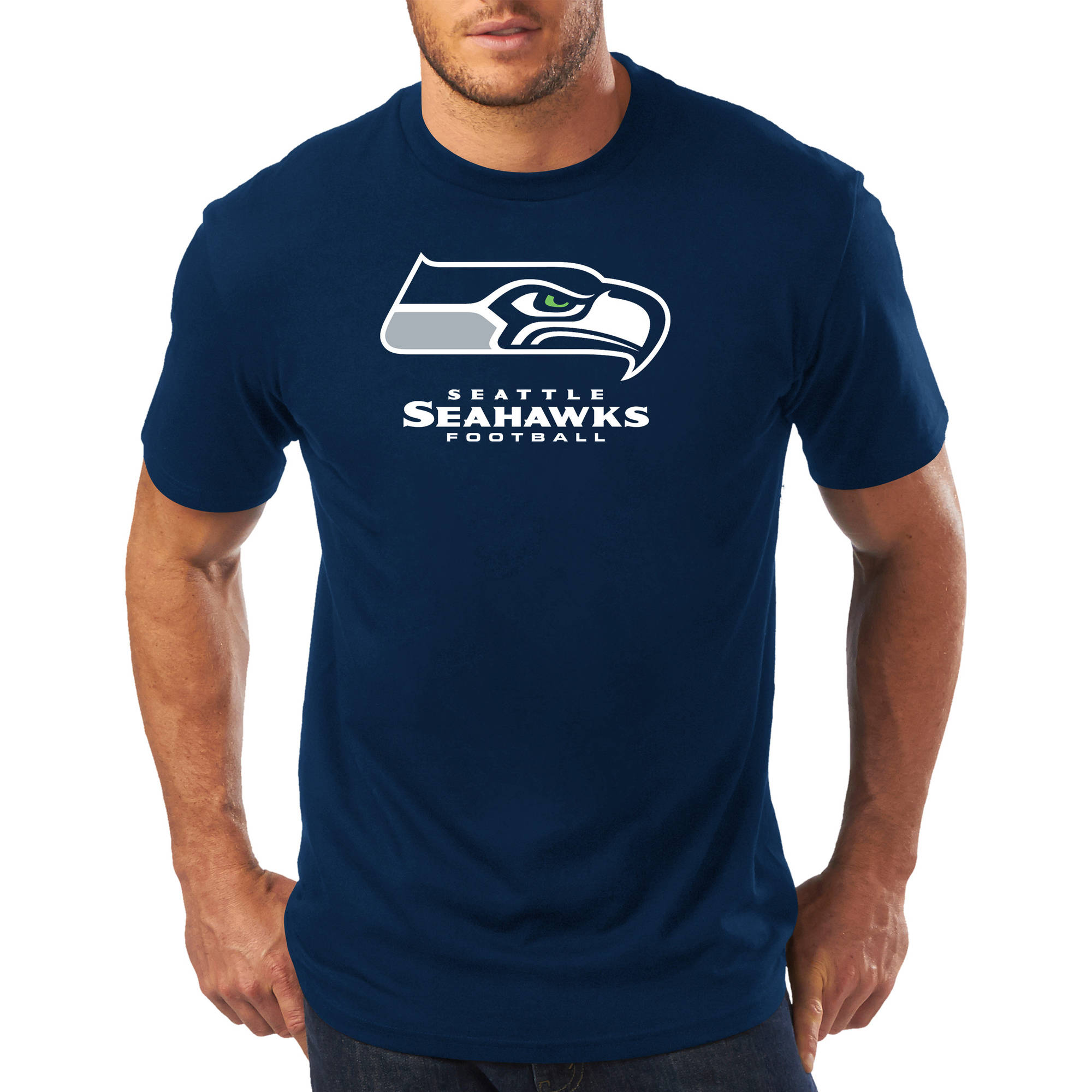 Big Men's NFL Seattle Seahawks Short Sleeve Tee
