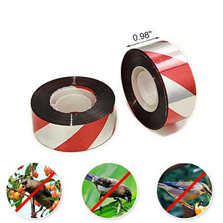 Agfabric Bird Deterrent Reflective Scare Tape 0.98