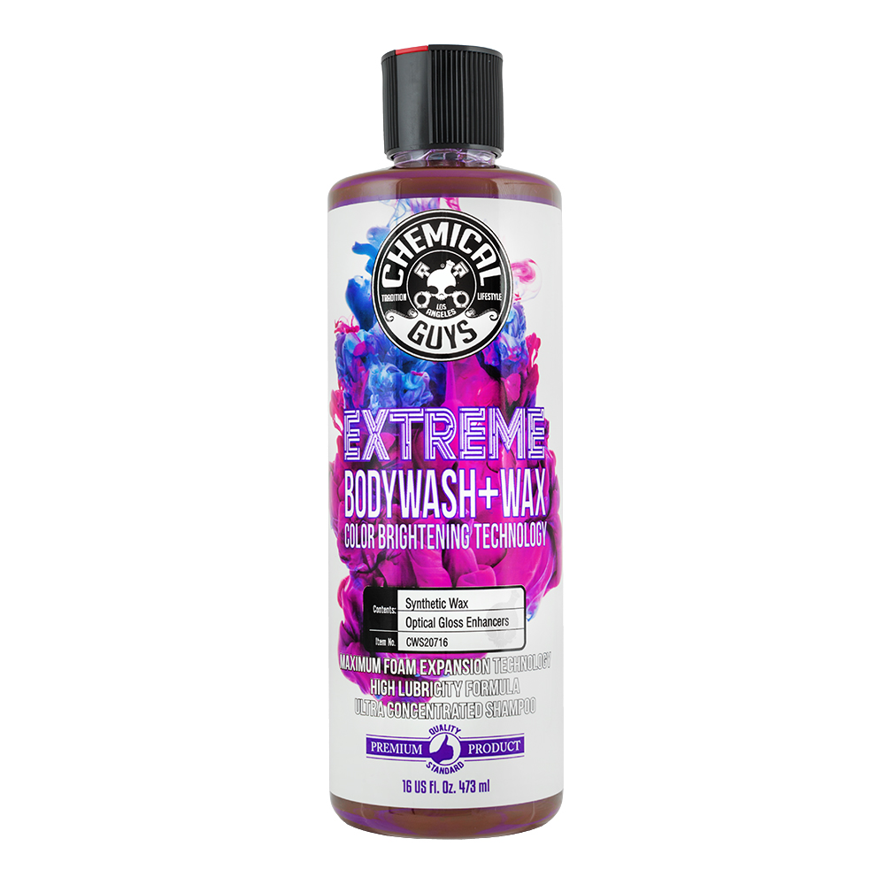Chemical Guys Extreme Body Wash & Wax with Color Brightening Technology (16 oz)
