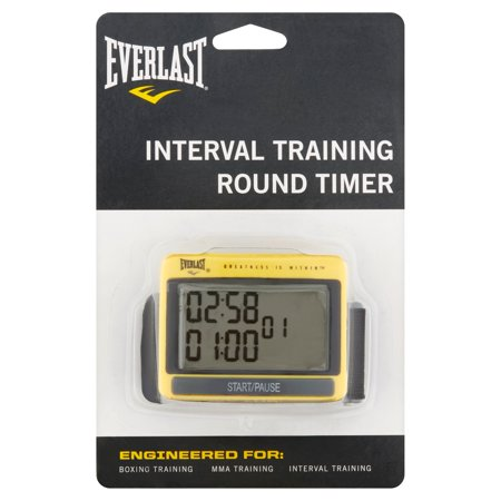Boxing Interval Timer (Everlast Interval Training Round)