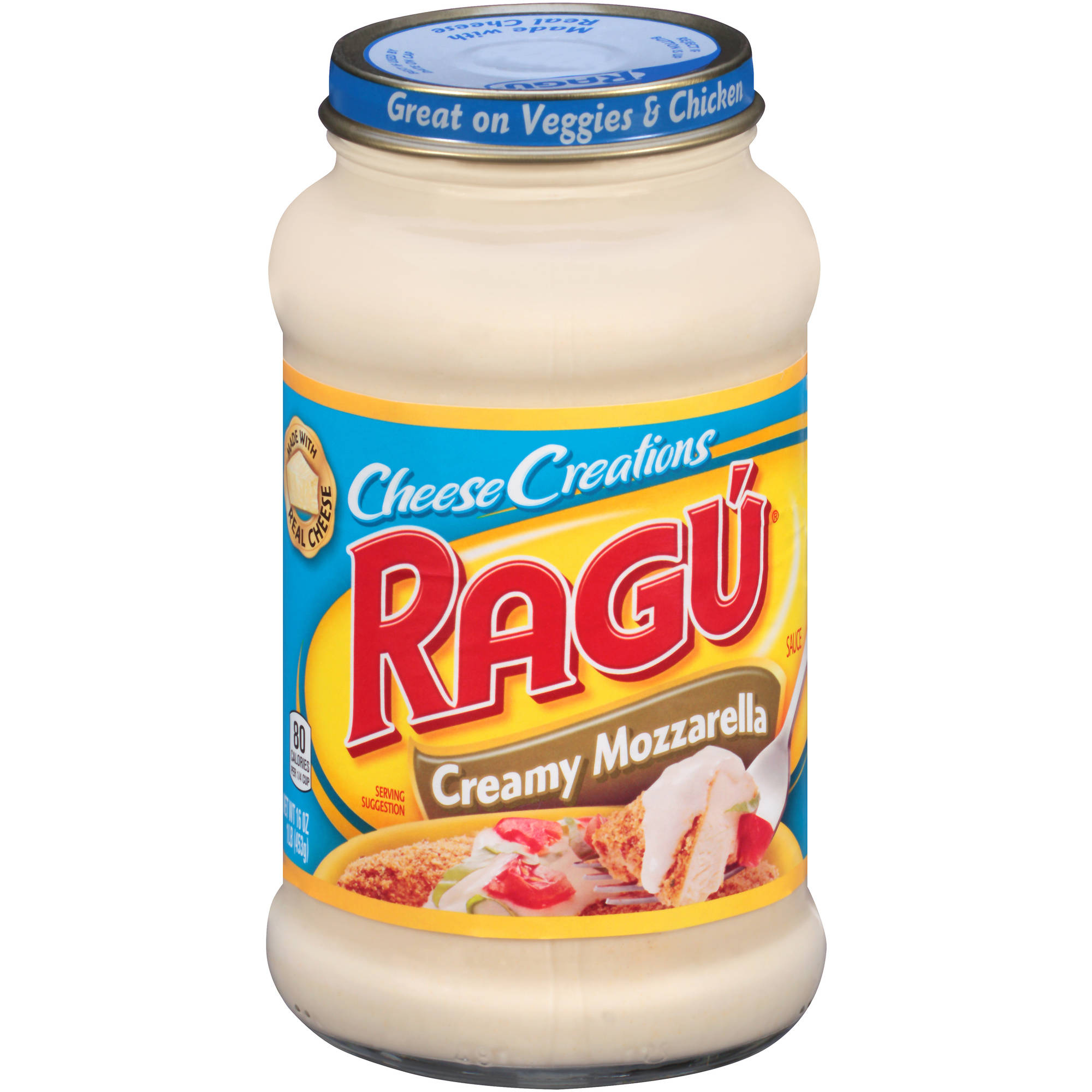 Ragu Cheese Creations Creamy Mozzarella Pasta Sauce, 16 oz