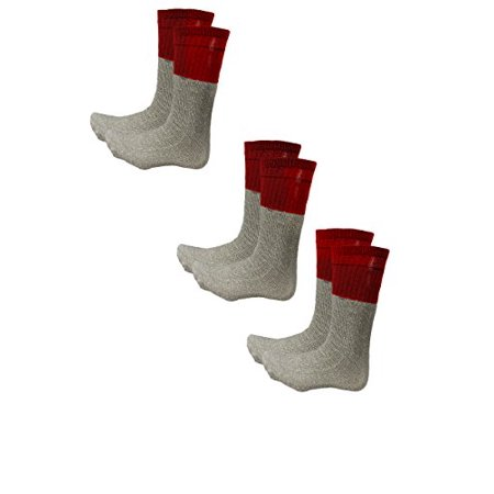 Living Socks New Original Extreme Weather Mens 3 Pack Thermal Boot Winter Socks (3 Pack,