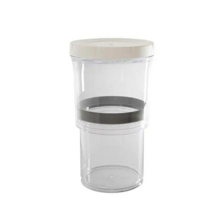 Press The Pumping Tank Vacuum Retractable Crisper Adjustable Container - image 1 of 9