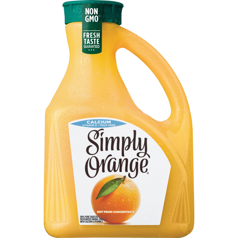 Orange Juice with Calcium, 2.63 Liters