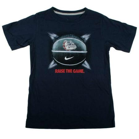 Nike Gonzaga Bulldogs Youth Basketball T Shirt   Raise The Game
