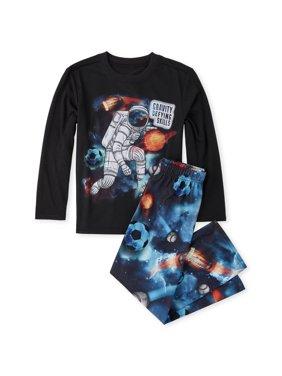 The Children's Place Long sleeve printed 'gravity defying skills' 2 piece pajama set (little boy & big boy)