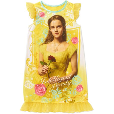 Best Girls Pajamas (Beauty And The Beast Movie Girls Belle Nightgown)