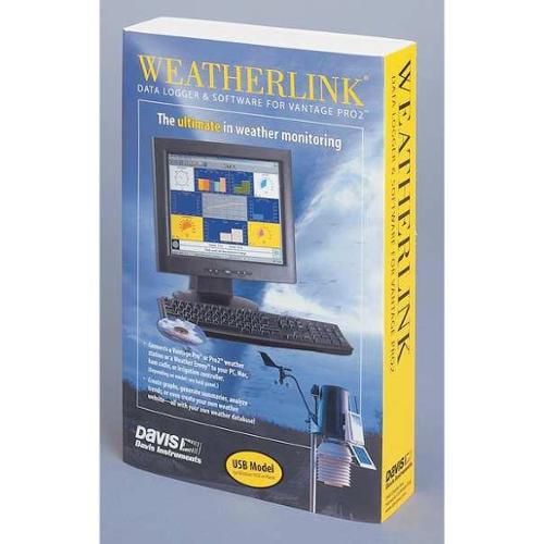 DAVIS INSTRUMENTS 6520 WeatherLink Software, Mac, USB