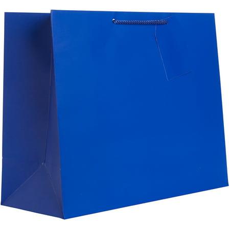Jillson & Roberts Jumbo Gift Bags, Solid Matte Royal (12 Pcs)](Jumbo Plastic Gift Bags)