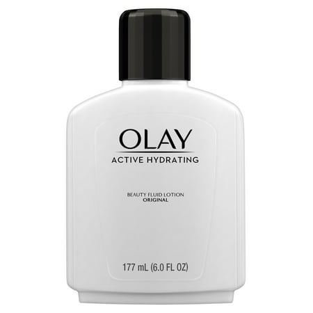 - Olay Active Hydrating Beauty Moisturizing Lotion, 6 fl oz