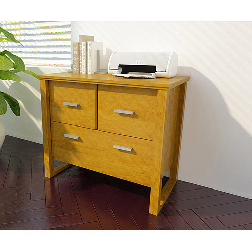 Bower Collection Lateral Filing Drawer, Alder